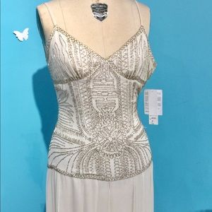 Great Gatsby-inspired Beaded Gown